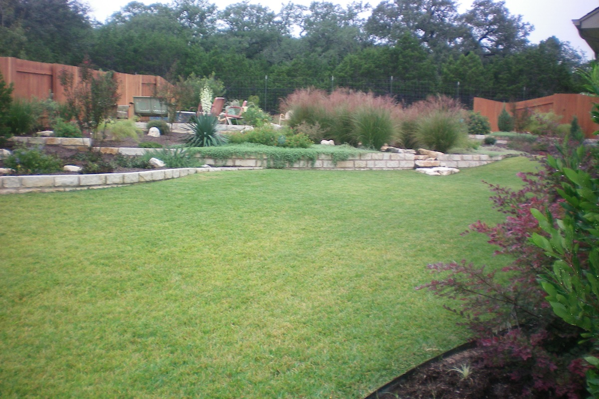 Landscaping Ties Red Deer : Cypress canyon cedar park red sun landscape design